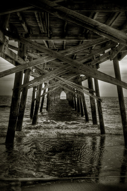 Ocean Crest Pier, Oak Island, NC